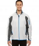 Ash City - North End Men's Motion Interactive ColorBlock Performance Fleece Jacket Crystal Qrtz/DGR