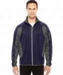Ash City - North End Men's Motion Interactive ColorBlock Performance Fleece Jacket Navy/DK GRP