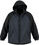 Ash City - North End Men's Performance 3-In-1 Seam-Sealed Mid-Length Jacket Black