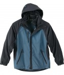 Ash City - North End Men's Performance 3-In-1 Seam-Sealed Mid-Length Jacket Glacier Blu