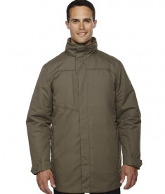 Ash City - North End Men's Promote Insulated Car Jacket DK Oakmoss