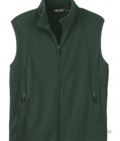 Ash City - North End MEN'S RECYCLED FLEECE FULL-ZIP VEST Alpine Green