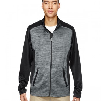 ash-city-north-end-mens-shuffle-performance-mélange-interlock-jacket-black