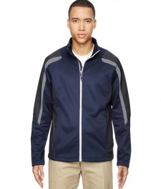 Ash City - North End Men's Strike Colorblock Fleece Jacket Classic Navy