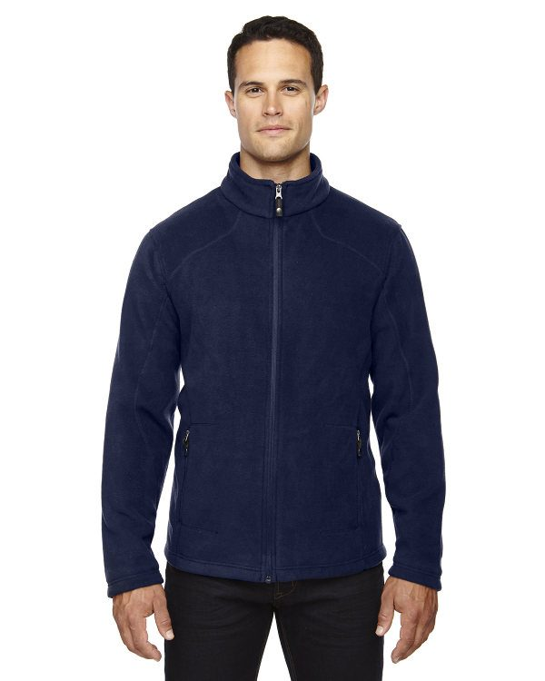Ash City - North End Men's Tall Voyage Fleece Jacket Classic Navy