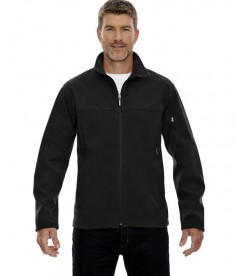 Ash City - North End Men's Three-Layer Fleece Bonded Performance Soft Shell Jacket Black