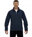 Ash City - North End Men's Three-Layer Fleece Bonded Performance Soft Shell Jacket MidNight Navy