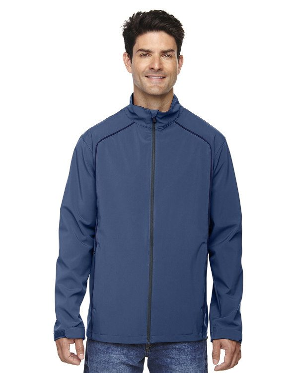 Ash City - North End Men's Three-Layer Light Bonded Soft Shell Jacket Regata Blue