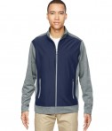 Ash City - North End Men's Victory Hybrid Performance Fleece Jacket Classic Navy