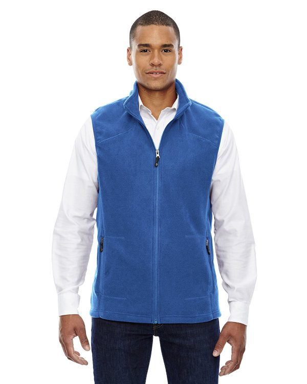 Ash City - North End Men's Voyage Fleece Vest True Royal