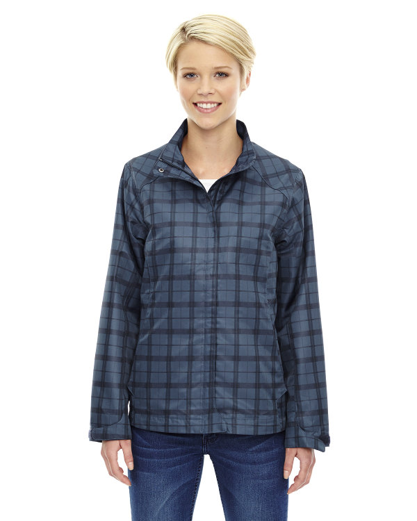 ash-city-north-end-sport-blue-ladies-locale-lightweight-city-plaid-jacket-night