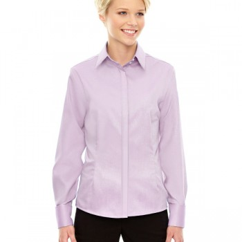 ash-city-north-end-sport-blue-ladies-refine-wrinkle-free-two-ply-80s-cotton-royal-oxford-dobby-taped-shirt-orchid-purple