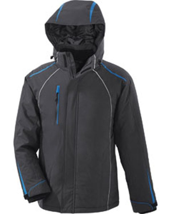 Ash City - North End Sport Red ALTITUDE Men's Seam-Sealed Insulated Jacket Black Silk