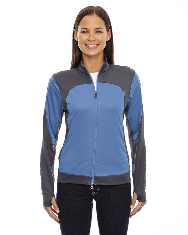 Ash City - North End Sport Red Ladies' Active Performance Stretch Jacket Vibrant Sky