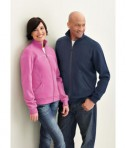 Ash City - North End Sport Red Ladies' Cotton Polyester Fleece Zip Jacket LifeStyle