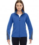 Ash City - North End Sport Red Ladies' Escape Bonded Fleece Jacket Olympic Blue