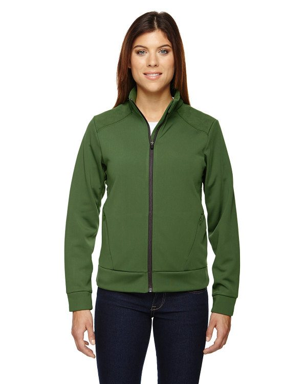 Ash City - North End Sport Red Ladies' Evoke Bonded Fleece Jacket Fern