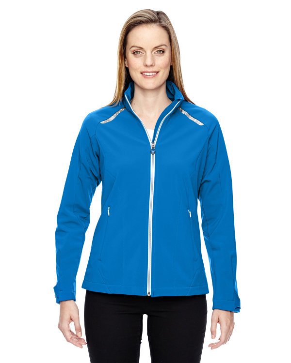 ash-city-north-end-sport-red-ladies-excursion-soft-shell-jacket-with-laser-stitch-accents-olympic-blue