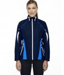 Ash City - North End Sport Red Ladies' Impact Active Lite Colorblock Jacket Night