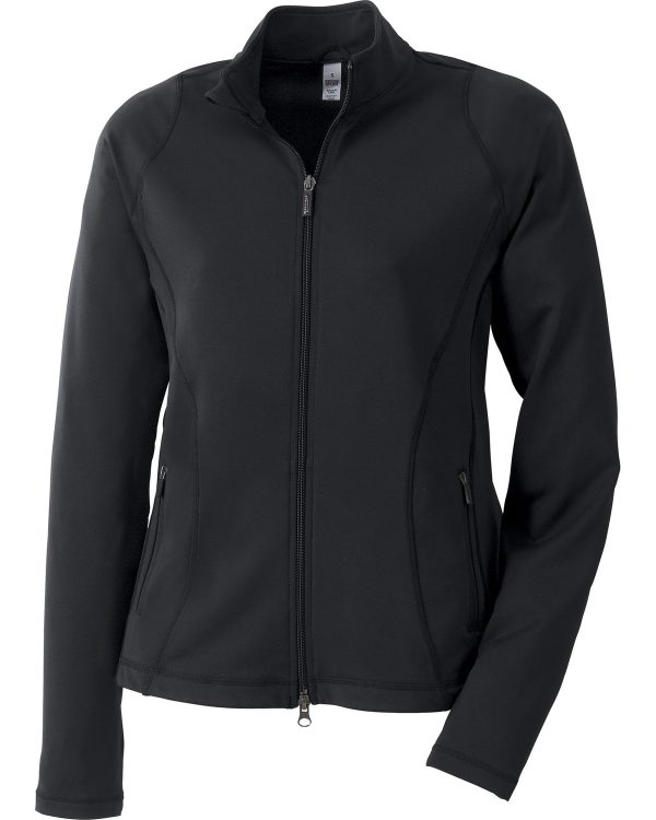 Ash City - North End Sport Red Ladies' Lifestyle Jacket Black