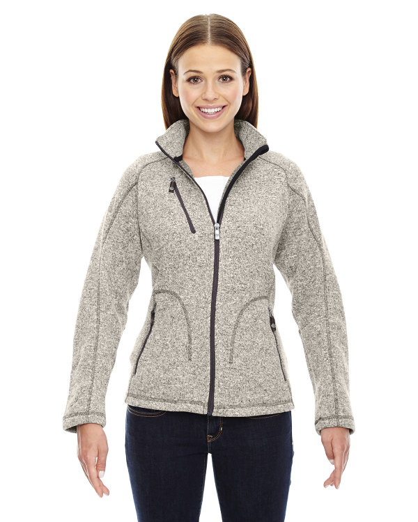 ash-city-north-end-sport-red-ladies-peak-sweater-fleece-jacket-light-heather