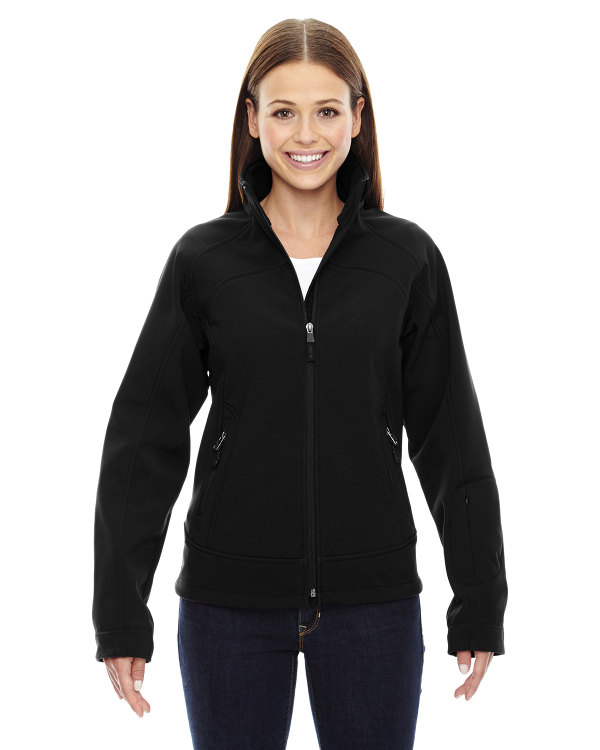 ash-city-north-end-sport-red-ladies-three-layer-light-bonded-soft-shell-jacket-black