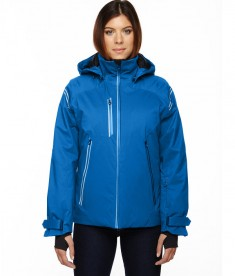 Ash City - North End Sport Red Ladies' Ventilate Seam-Sealed Insulated Jacket Olympic Blue