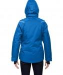 Ash City - North End Sport Red Ladies' Ventilate Seam-Sealed Insulated Jacket Olympic Blue Back