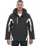 Ash City - North End Sport Red Men's Apex Seam-Sealed Insulated Jacket Black