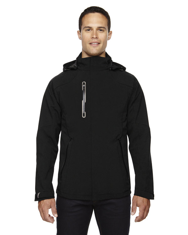 ash-city-north-end-sport-red-mens-axis-soft-shell-jacket-with-print-graphic-accents-black