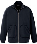 Ash City - North End Sport Red Men's Cotton Polyester Fleece Zip Jacket Black