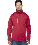 Ash City - North End Sport Red Men's Escape Bonded Fleece Jacket Olympic Red