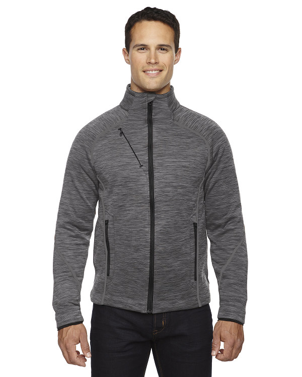 ash-city-north-end-sport-red-mens-flux-mélange-bonded-fleece-jacket-carbon