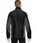 Ash City - North End Sport Red Men's Immerge Insulated Hybrid Jacket with Heat Reflect Technology Black Back