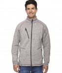 Ash City - North End Sport Red Men's Peak Sweater Fleece Jacket Light Heather