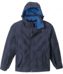 Ash City - North End Sport Red Men's Performance Seam-Sealed Jacket Night