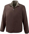 Ash City - North End Sport Red MEN'S REVERSIBLE JACKET Chocolate