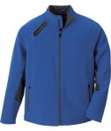 Ash City - North End Sport Red Men's Three-Layer Light Bonded Soft Shell Jacket Blue Peak