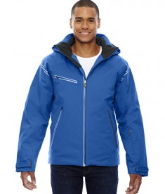 Ash City - North End Sport Red Men's Ventilate Seam-Sealed Insulated Jacket Olympic Blue