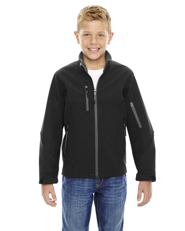ash-city-north-end-youth-compass-colorblock-three-layer-fleece-bonded-soft-shell-jacket-black
