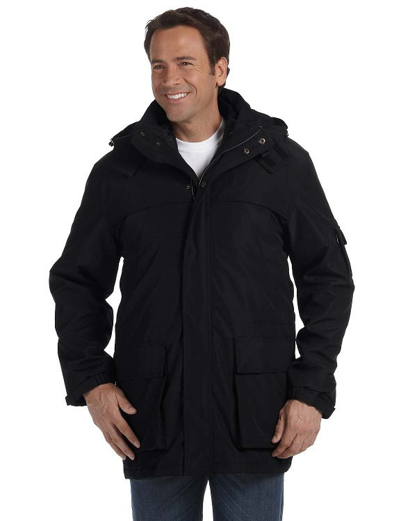 Ash City Weatherproof 3-in-1 Systems Jacket Black