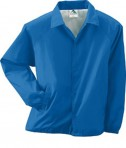 Augusta Drop Ship Lined Nylon Coach's Jacket Royal