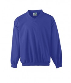 Augusta Drop Ship Micro Poly Windshirt/Lined Purple