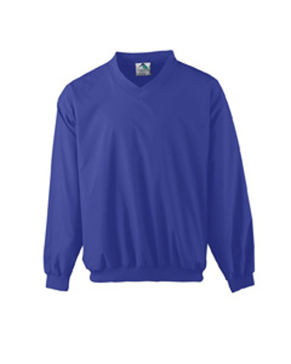 augusta-drop-ship-micro-poly-windshirt-lined-purple