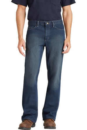 Bulwark EXCEL FR Men's Straight Fit Sanded Denim Jean Front