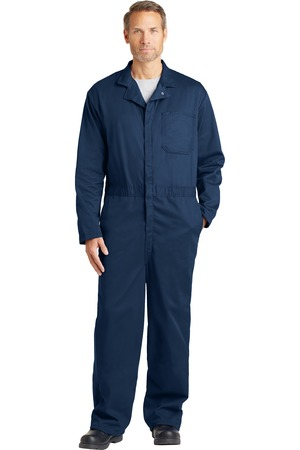 Bulwark EXCEL FR Tall Classic Coverall Navy Front