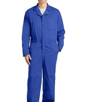 bulwark-fr-excel-classic-coverall-royal-blue-front
