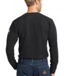 Bulwark iQ Long Sleeve Tee Black Back View