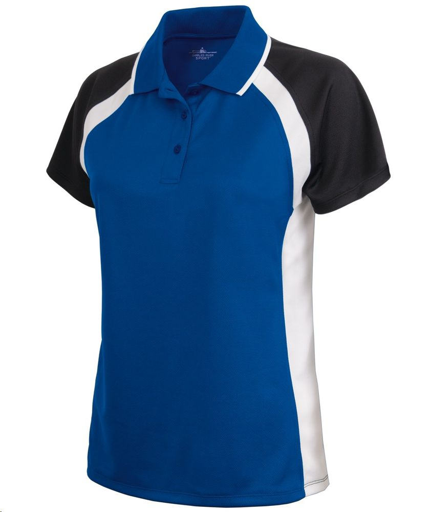 Charles River Apparel Style 2425 Women's Ares Button Polo
