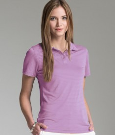 Charles River Apparel Style 2516 Women's Shadow Stripe Polo